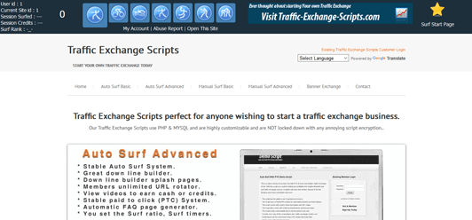 Traffic Exchange Screen Shot #3